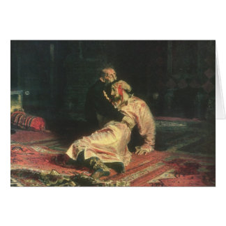 Carte Ivan le terrible et son fils