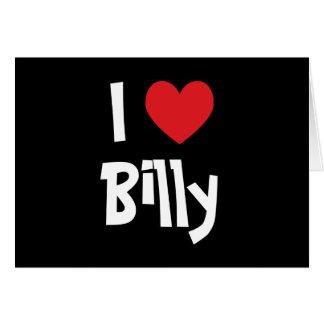 Carte J'aime Billy