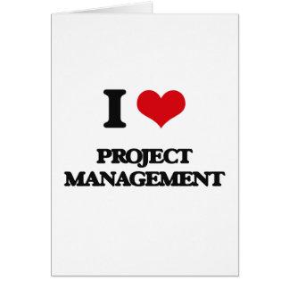Carte J'aime la gestion des projets