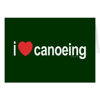 Carte J'aime le canoë-kayak