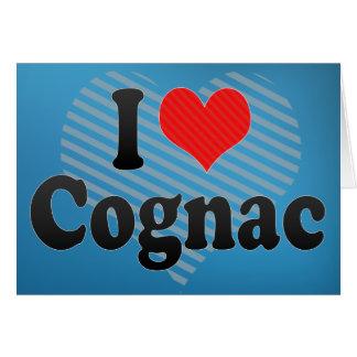 Carte J'aime le cognac