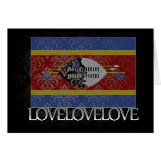 Carte J'aime le cool du Souaziland