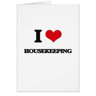 Carte J'aime le ménage