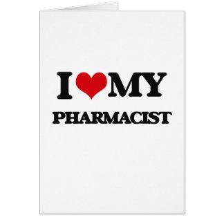 Carte J'aime mon pharmacien