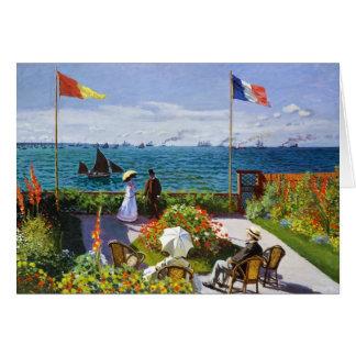 Carte Jardin chez Sainte-Adresse, Claude Monet 1867