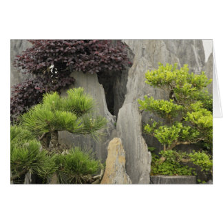 Carte Jardin de la famille de Bao, Huangshan, Chine. 2