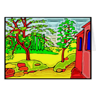 Carte Jardin de pays