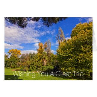 Carte Jardins de Fitzroy à Melbourne est Australie