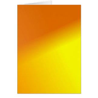 Carte Jaune orange Ombre
