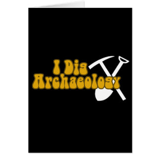 Carte Je creuse l'archéologie