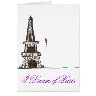Carte Je rêve de Paris, 2
