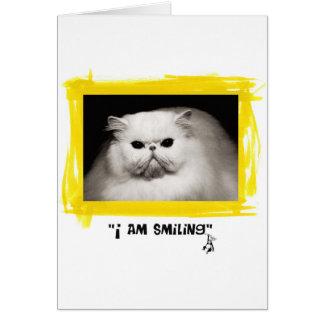 Carte Je souris !