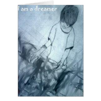 Carte Je suis un anime de manga de rêveur