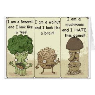 Carte Je suis un champignon