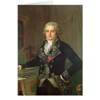 Carte Jean Antoine Chaptal Comte de Chanteloupe