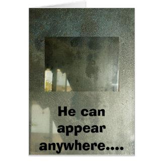 Carte Jésus dans le miroir, Jésus dans l'arbre de hall,
