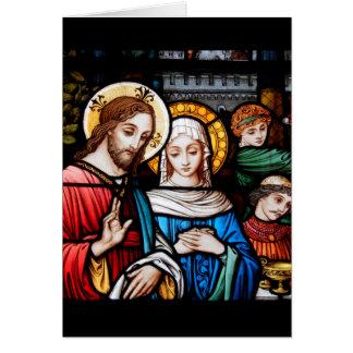 Carte Jésus et Mary