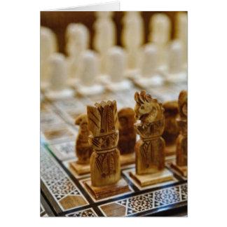 Carte Jeu d'échecs à vendre, bazar d'EL Khalili de Khan,