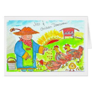 Carte Jizo et poulet Darshan