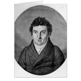 Carte Johann Gottlieb Fichte
