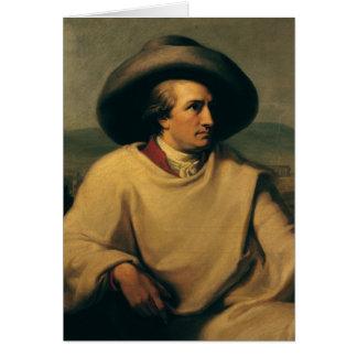 Carte Johann Wolfgang von Goethe