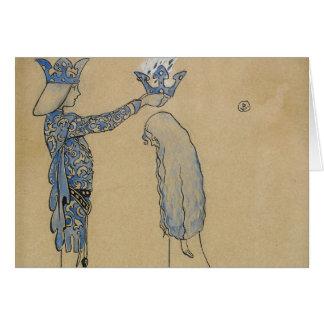Carte John Bauer - mettez alors le prince une couronne