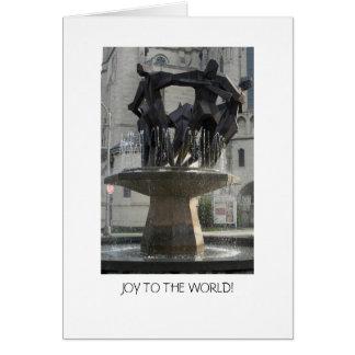Carte Joie au monde !