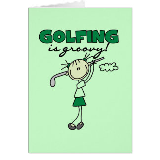 Carte Jouer au golf est les T-shirts super et les