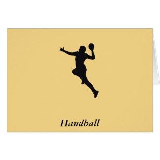 Carte Joueur de handball