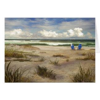 Carte Jour à la plage