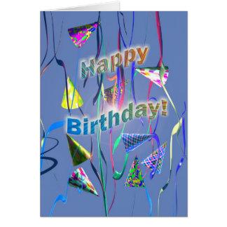 Carte Jour de fête d'anniversaire