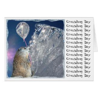 Carte Jour de Groundhog