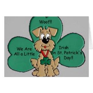 Carte Jour de la Saint Patrick