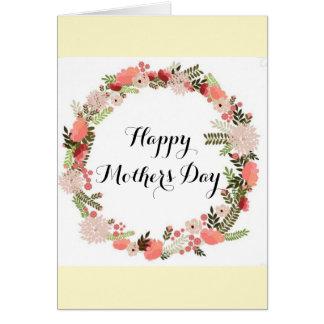 Carte Jour de mères