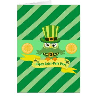 Carte Jour heureux de St Patrick