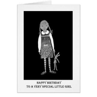"""Carte """"Joyeux anniversaire, à une petite fille spéciale"""