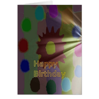 Carte Joyeux anniversaire collection en mars 2012