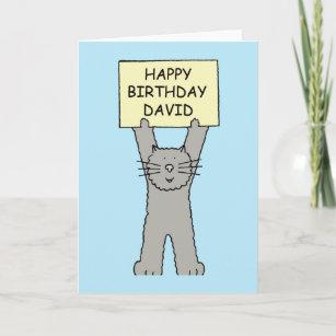 Invitations Faire Part Cartes Joyeux Anniversaire David Zazzle Be