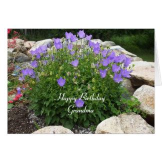 Carte Joyeux anniversaire Grand-maman-Cantorbéry Bells