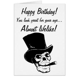 Carte Joyeux anniversaire ! Vous regardez presque