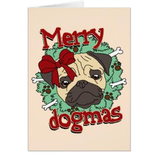 Carte Joyeux dogmes - carlin