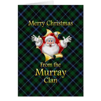 Carte Joyeux Noël du clan de Murray