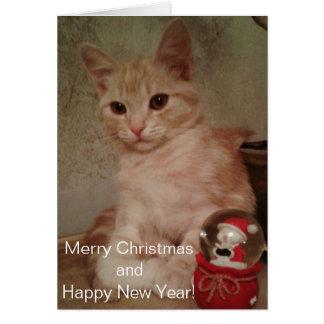 Carte Joyeux Noël et bonne année !