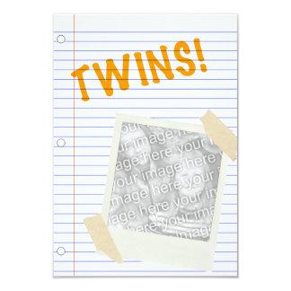 Carte jumeaux