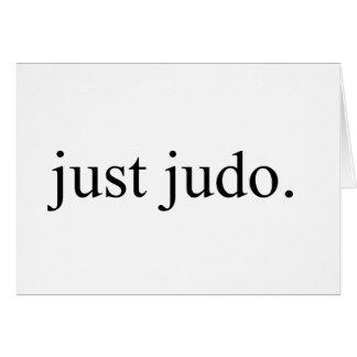 Carte Juste judo