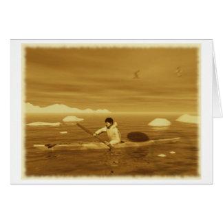 Carte Kayak d'Inuit