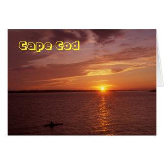 Carte Kayaker d'océan de Cape Cod