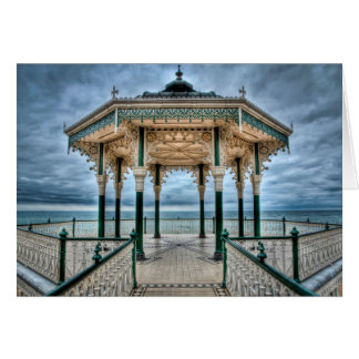 Carte Kiosque à musique de Brighton, Angleterre