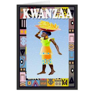 Carte Kwanzaa, approvisionnements de transport
