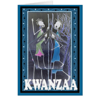 Carte Kwanzaa, vie traditionnelle et culture